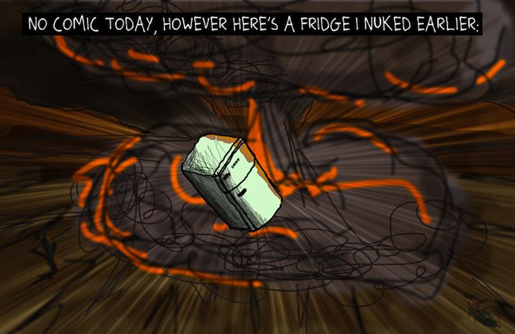 Nuked Fridge